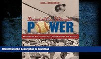 Hardcover Baseball s Ultimate Power: Ranking The All-Time Greatest Distance Home Run Hitters On Book
