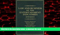 PDF [DOWNLOAD] Law and Business of the Entertainment Industries, 5th Edition (Law   Business of