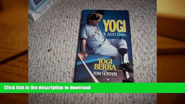 Pre Order Yogi: It Ain t Over On Book