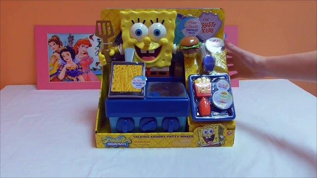 Little Kelly - Toys & Play Doh : Spongebob Krabby Patty Maker ( Bikini Bottom, Patrick, Spongebob)
