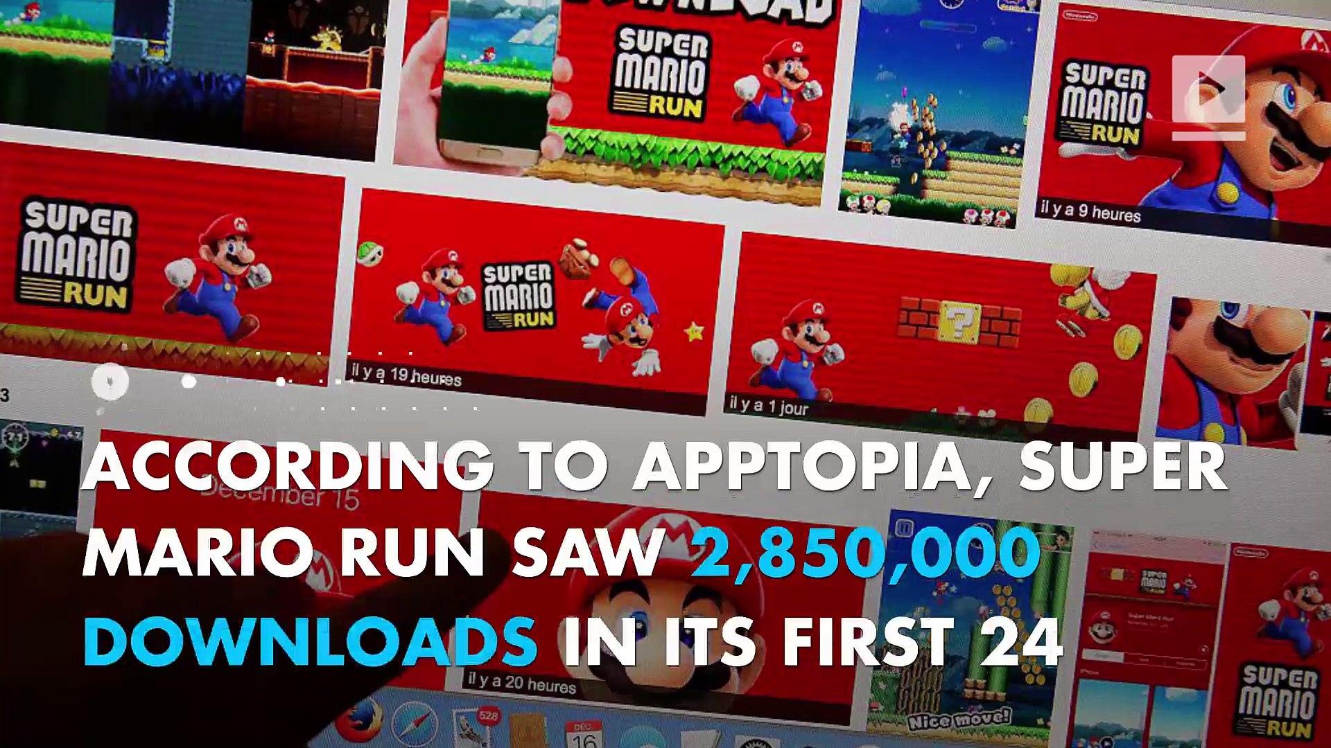Super Mario Run sees more day one downloads than Pokémon Go