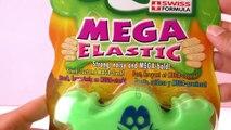 MEGA ELASTIC Slimy Matière visqueuse | Matière visqueuse à emporter | Super cool et ultra visqueux