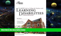 Best Price K W Guide to Colleges for Students with Learning Disabilities, 8th Edition (College