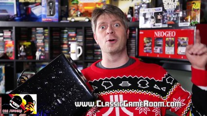 Classic Game Room - VECTORCADE controller review for Vectrex