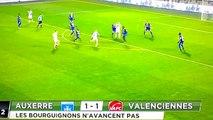 Auxerre Vs Valenciennes 1-1 Ligue 2  Tous les buts  16-12-2016 (HD)