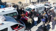 Aleppo evacuations halted while unknown number still trapped inside city