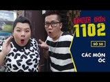 Các Món Ốc - Thực đơn 1102 số 50 | Hoàng Rapper & Tuyền Mập | Fullshow [Ẩm Thực]