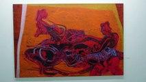 Exposition Etienne BLANC - Villa Tamaris-Pacha - Peintures - Encres de Chine