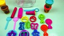 Bonbon Play Doh Glas Candy Jar français – Faire des bonbons et des sucreries demo