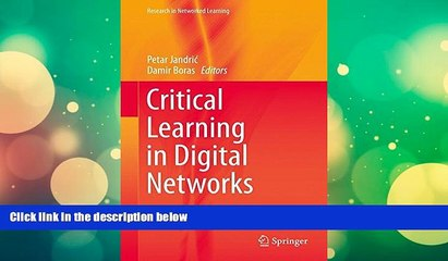 Price Critical Learning in Digital Networks (Research in Networked Learning)  On Audio