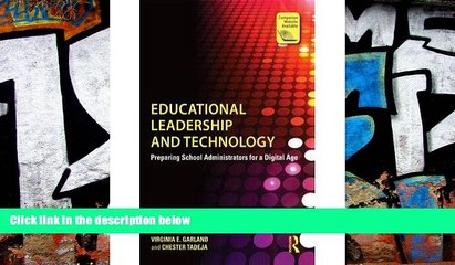 Price Educational Leadership and Technology: Preparing School Administrators for a Digital Age