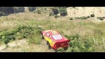 Disney Cars Pixar Nursery Rhymes & Lightning McQueen RACE LIGHTNING (Children Songs with Action)