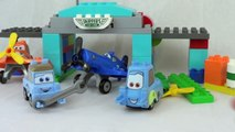 Lego Guido Gets Modified Disney Cars and Planes Modify Guido into an Airplane Lego Duplo Set