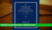PDF [FREE] DOWNLOAD  Contract Law and Theory: Selected Provisions: Restatement of Contracts and