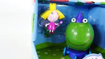 SURPRISE EGGS Ben and Hollys Little Kingdom Push-Along Frog Play Doh Egg Episodes DCTC