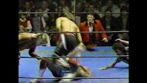 Midnight Express beat Rock and Roll Express for NWA Tag Titles