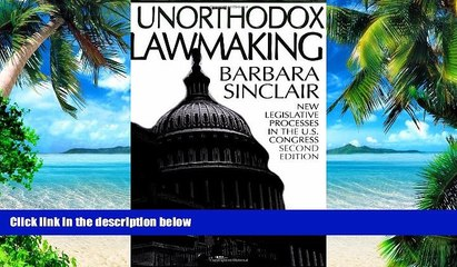 PDF  Unorthodox Lawmaking: New Legislative Processes in the U.S. Congress Barbara Sinclair  Book