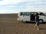 Désert noir, non loin de Merzouga, Maroc 2007