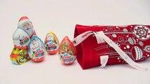 5 Kinder Surprise Eggs Unboxing 3 Christmas Edition 1 Kinder Maxi Egg Santa Kinder My Little Pony