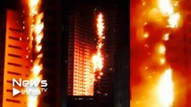 Un incendie dévaste deux tours aux Émirats arabes unis