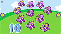 Count Numbers Games for Kids - Learn Animal Names and Count Numbers Video Gameplay