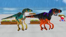 Rain Rain Go Away Children Nursery Rhymes for Babies   Dinosaurs Cartoons for Children 3D
