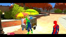 COLORS POLICE LAMBORGHINI & COLORS SPIDERMAN EPIC PARTY NURSERY RHYMES SONGS FOR CHILDREN