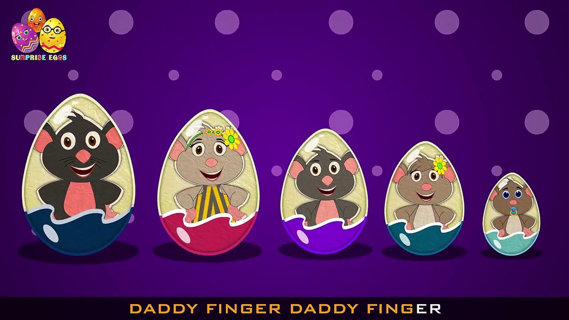 Finger Family Rat Surprise Egg | Surprise Eggs Finger Family | Surprise Eggs Toys Rat