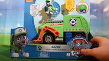 Camion Poubelle Paw Patrol, Camion de Police, Camion de Pompier ✩ Les véhicules de Paw Patrol