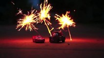 Patriotic Disney Cars Happy 4th of July DinseyCarToys Fireworks, Sparklers, Firecrackers 5mut FrB4As