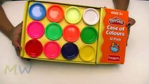 Play DoH Case of Colours Flower | How to Make a Colours Flowers | Kids Colours Flowers