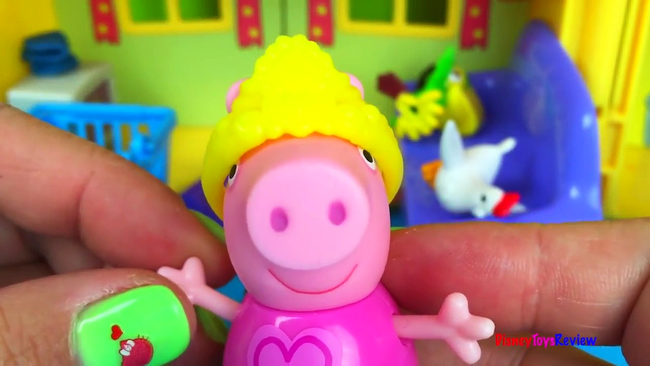 PEPPA PIGS HOUSE STORY WITH PEPPA PIG GEORGE PIG MAMA PIG PAPA PIG – PEPPA AND GEORGE STAY UP LATE
