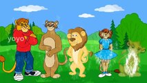 Lion Finger Family | Nursery Rhymes | Poems For Kids | Rhymes For Kids | 3D Rhymes