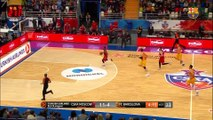 [HIGHLIGHTS] BASKET (Eurolliga): CSKA - FC Barcelona Lassa (92-76)