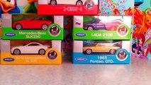 Машинки Surprise eggs CARS camry, mercedes-benz SLK350,LADA 2106,LADA NIVA, И ДРУГИЕ