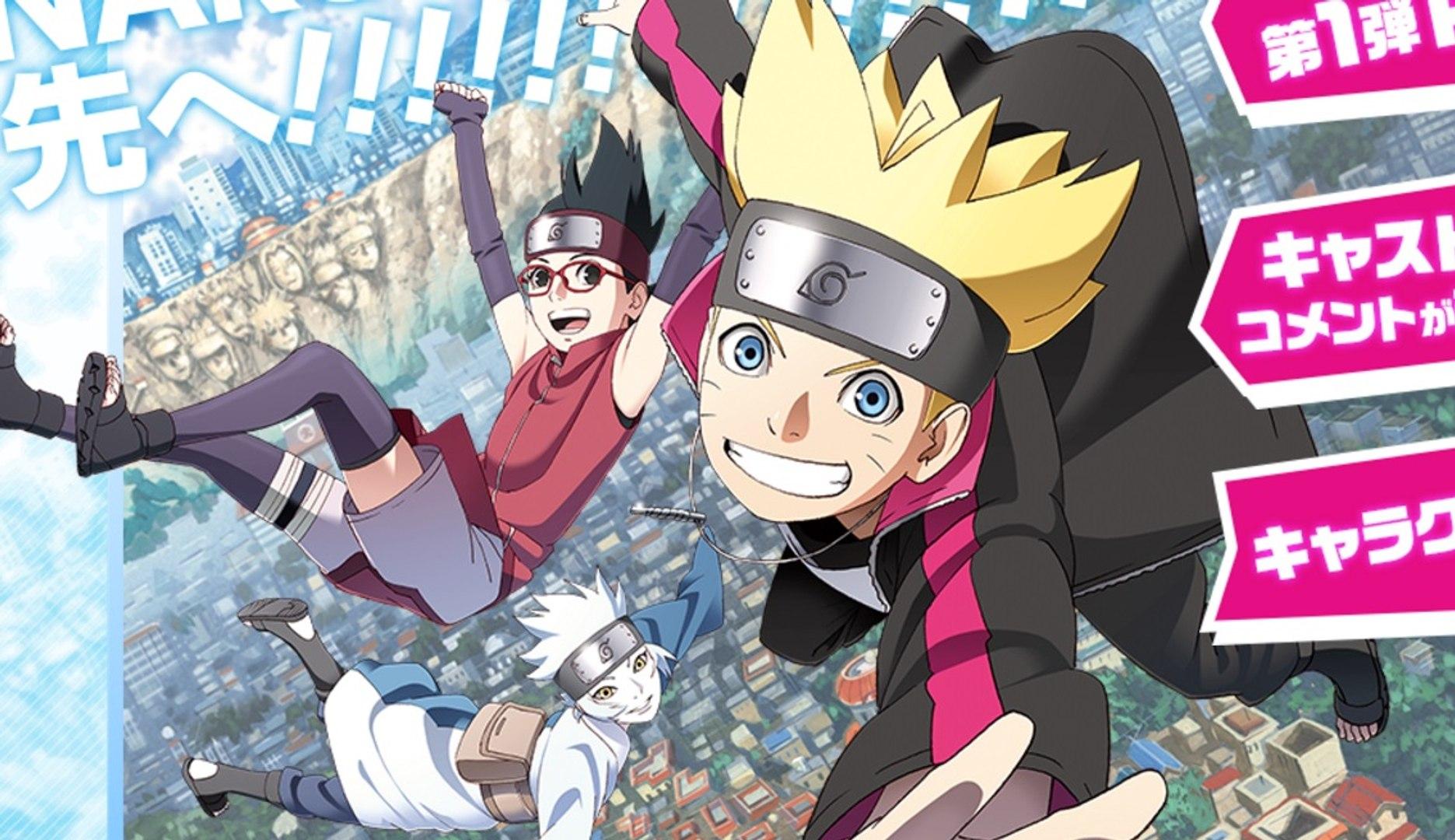Boruto: Naruto Next Generations - Tráiler