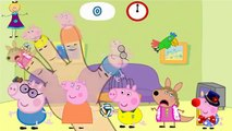 Finger Family Rhymes PEPPA PIG Cartoons for Children | PEPPA PIG 2D Action Rhymes for Babies