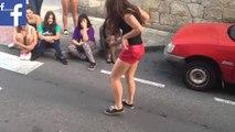 Sokak Dansında Çığır Açan Kız