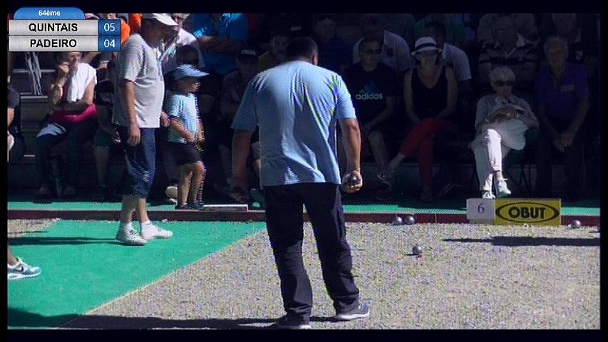 International de la Ville d'Espalion 2016 : 64ème Quintais VS Padeiro