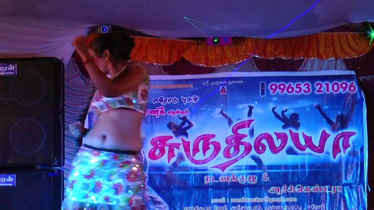 Latest tamil village stage adal padal mid night masala