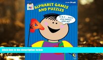 Pre Order Alphabet Games and Puzzles Stick Kids Workbook, Grade PreK (Stick Kids Workbooks)