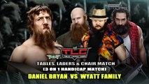 Tables, Ladders & Chairs 2013 Daniel Bryan Vs. Daniel Bryan - Lucha Completa en Español (By el Chapu)