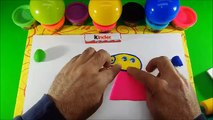 Play Doh Peppa Pig with Colors Learning-kinder-Surprise Toys and Play Doh