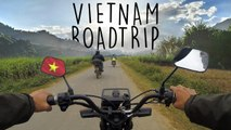 VIETNAM Motorbike Road Trip [ ♪ Indian Summer ]