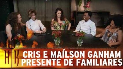 Cris e Maílson ganham presente especial de seus familiares
