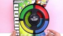 Simon Swipe - Version classique du jeu plus trois variantes - Jeu de réaction pour enfants