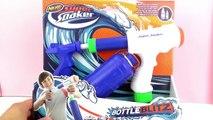 NERF SUPER SOAKER BOTTLE BLITZ - Pistolet à eau pour lété! Avec grand réservoir!