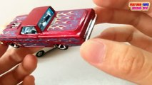 Tomica & Hot Wheels Toy Car | 65 Ford Ranchero Vs Fiat 500 | Kids Cars Toys Videos HD Collection
