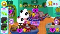 BABY PANDA SUPERMARKET Français Android & iOS - La famille Panda va faire des courses!