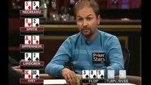 Poker Cash Game when daniel negreanu hits quads...